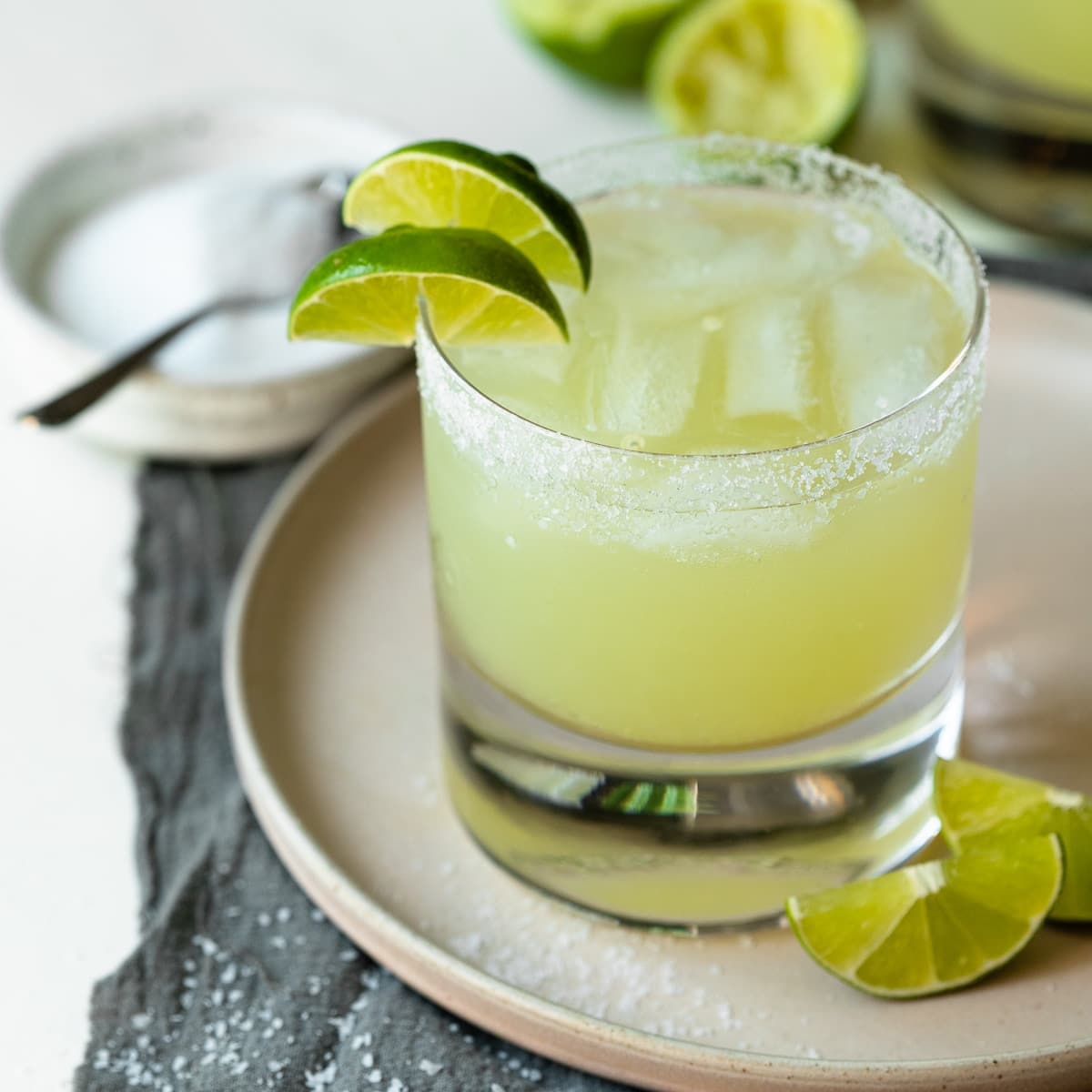 The 3-2-1 Margarita - a super simple and spot-on take on the classic summer cocktail.   www.brighteyedbaker.com