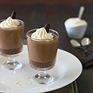 No-Bake Chocolate Cheesecake Parfaits - rich and creamy, but lighter than your average cheesecake| www.brighteyedbaker.com