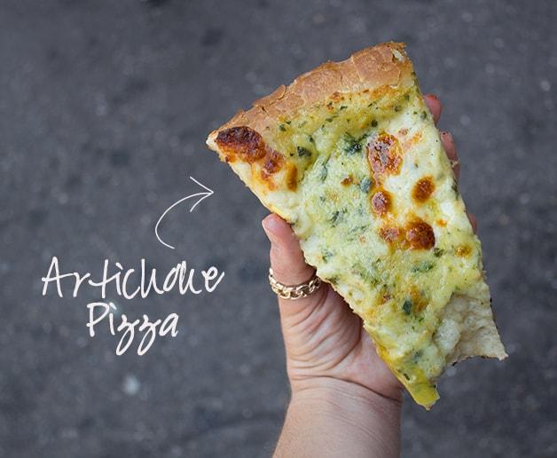 Food & Travels: New York | Artichoke Pizza | www.brighteyedbaker.com