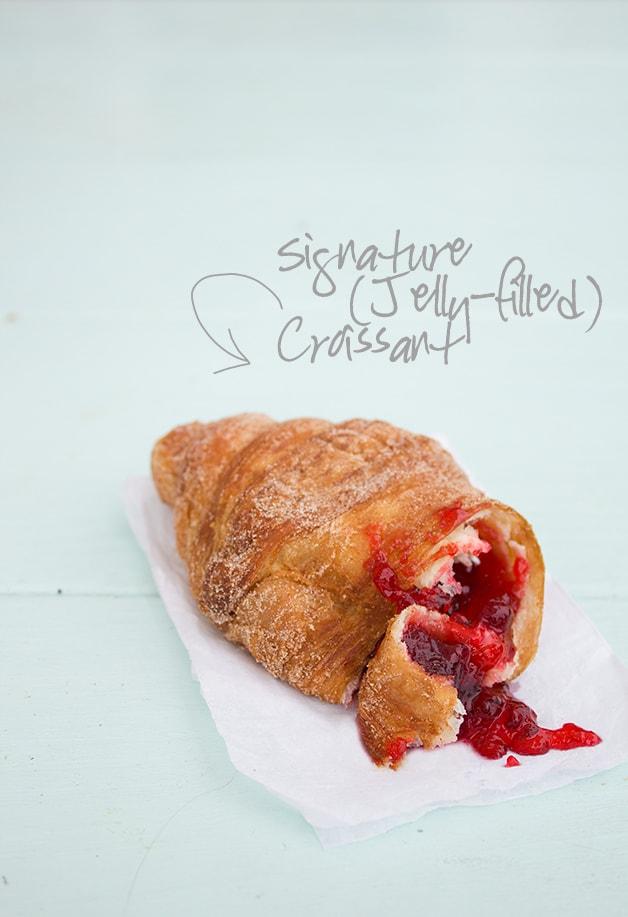 Food & Travels: New York | Signature Croissant @ Montauk Bake Shoppe | www.brighteyedbaker.com