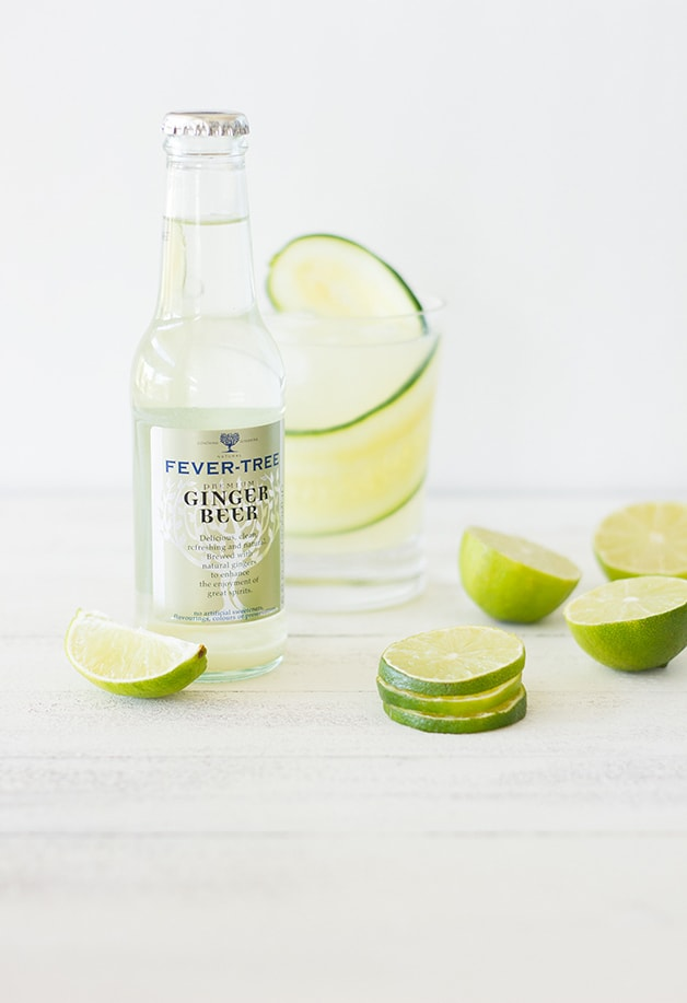Cucumber Moscow Mule - cool cucumber balances out the warm ginger notes in this easy Moscow Mule recipe.