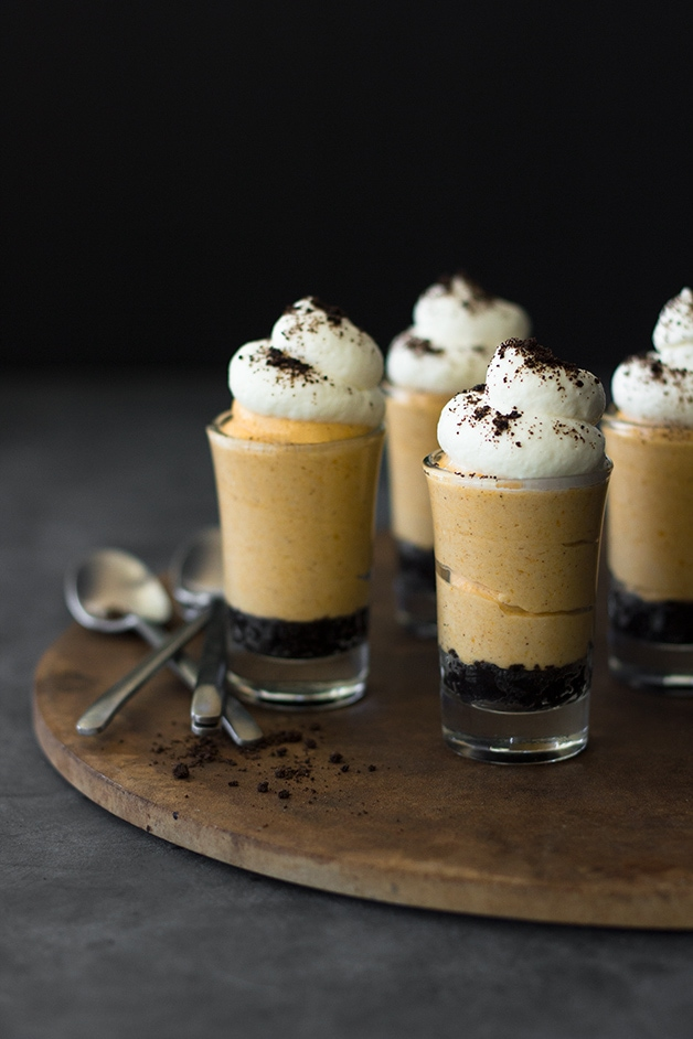 Pumpkin Cheesecake Shooters Recipe — Dishmaps