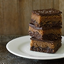 Healthy No-Bake 3-Layer Chocolate Espresso Bars (Gluten-Free, Vegan)*