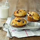 Cranberry White Chocolate Chip Muffins - Light and tender bakery-style muffins studded with tangy dried cranberries and sweet white chocolate chips. | www.brighteyedbaker.com