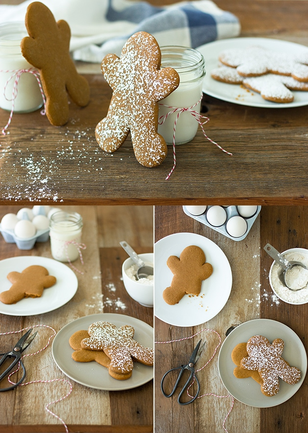 Classic Gingerbread Man Cookies - the ultimate Christmas cookie at its best: soft and laced with a perfect balance of warm spices. | www.brighteyedbaker.com
