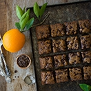 One-Bowl Orange-Butterscotch Chocolate Chunk Blondies | www.brighteyedbaker.com