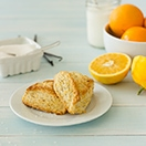 Zested Orange & Vanilla Bean Scones - light, buttery, tender scones with the perfect amount of crispy edges and fresh citrusy flavor.