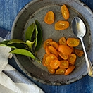 DIY Candied Kumquats - a little tangy, a little sweet, and SO easy to make. | www.brighteyedbaker.com