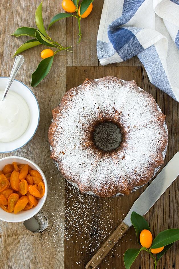 Kumquat Vanilla Bean Bundt Cake | www.brighteyedbaker.com