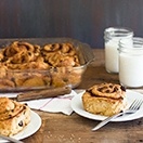 Cinnamon-Raisin Swirl Buns - a classic bread turned into super-soft sweet rolls, loaded with gooey swirls of cinnamon-sugar and juicy raisins.| www.brighteyedbaker.com