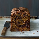 Cinnamon-Swirl Chocolate Chip Banana Bread