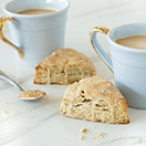 Coffee and Brown Sugar Scones