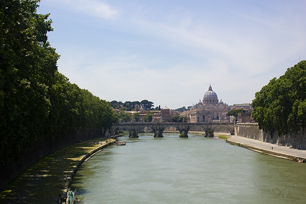 Food & Travels: Pisa and Rome - Fiume Tevere