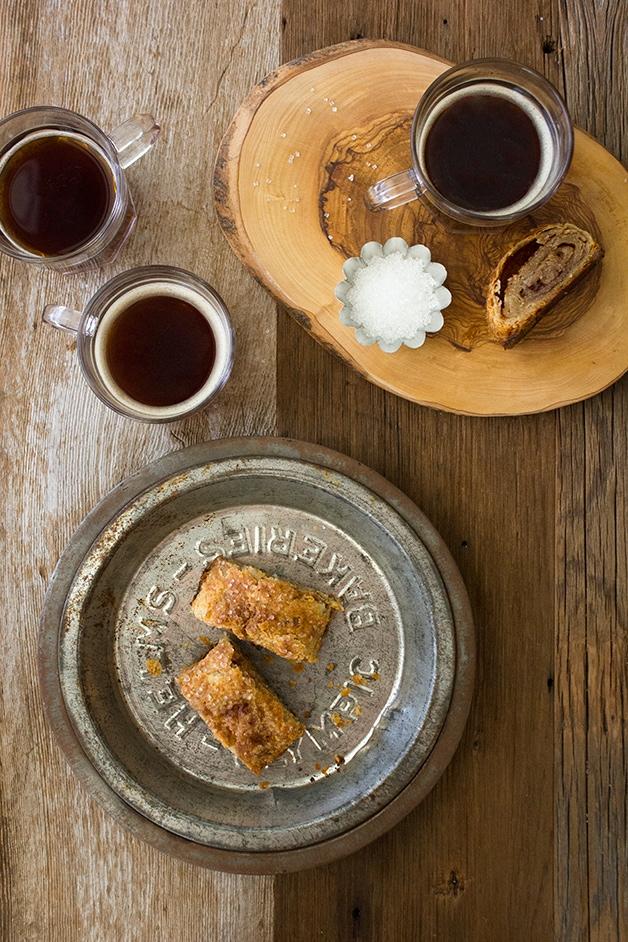 Cinnamon-Sugar Pie Crust Rolls - flaky, buttery pastries swirled with a sweet layer of cinnamon-sugar | www.brighteyedbaker.com