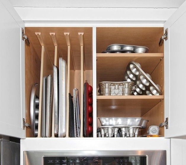 Kitchen Pantry Cabinet Organization Ideas Plate Rack Shelf: For Your Kitchen: Nine Innovative Kitchen Storage Ideas