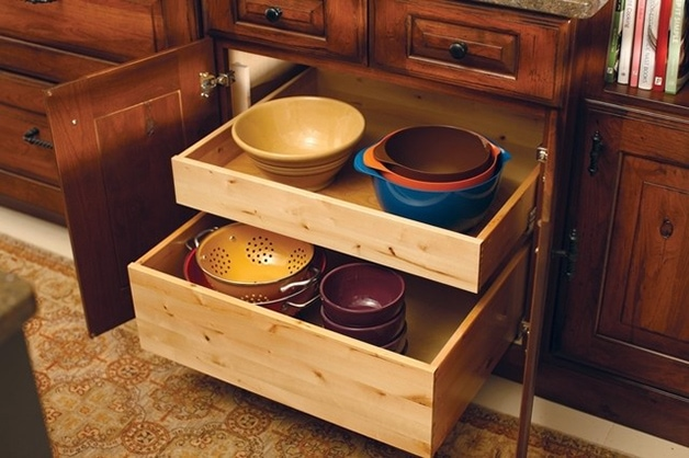 Innovative Kitchen Storage Ideas - Need some design inspiration? Here are nine creative ways to take your kitchen storage to the next level! | www.brighteyedbaker.com