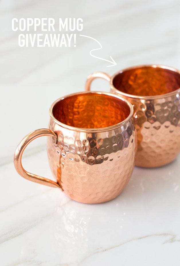 Old & Urban Copper Mug Giveaway | www.brighteyedbaker.com