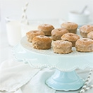 Mini Cinnamon-Maple Baked Doughnuts {GF} | www.brighteyedbaker.com