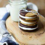 Pumpkin Spice Fluffernutter Cookie Sandwiches | www.brighteyedbaker.com