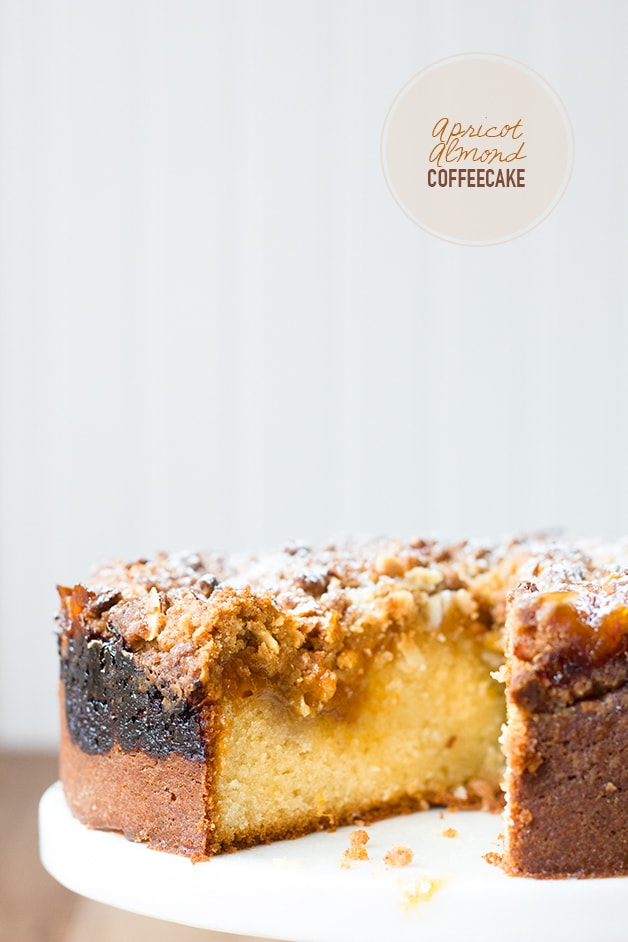 Apricot Almond Coffeecake | www.brighteyedbaker.com