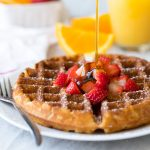 These are THE BEST gluten-free waffles - light and fluffy on the inside with a perfectly crisp golden-brown exterior. Plus, the batter can be made ahead of time for an extra-quick breakfast on busy mornings. Can be made with or without a mix.
